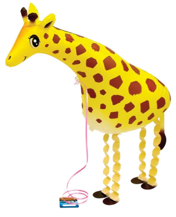gehender Ballon Giraffe - Walking Balloon Giraffa