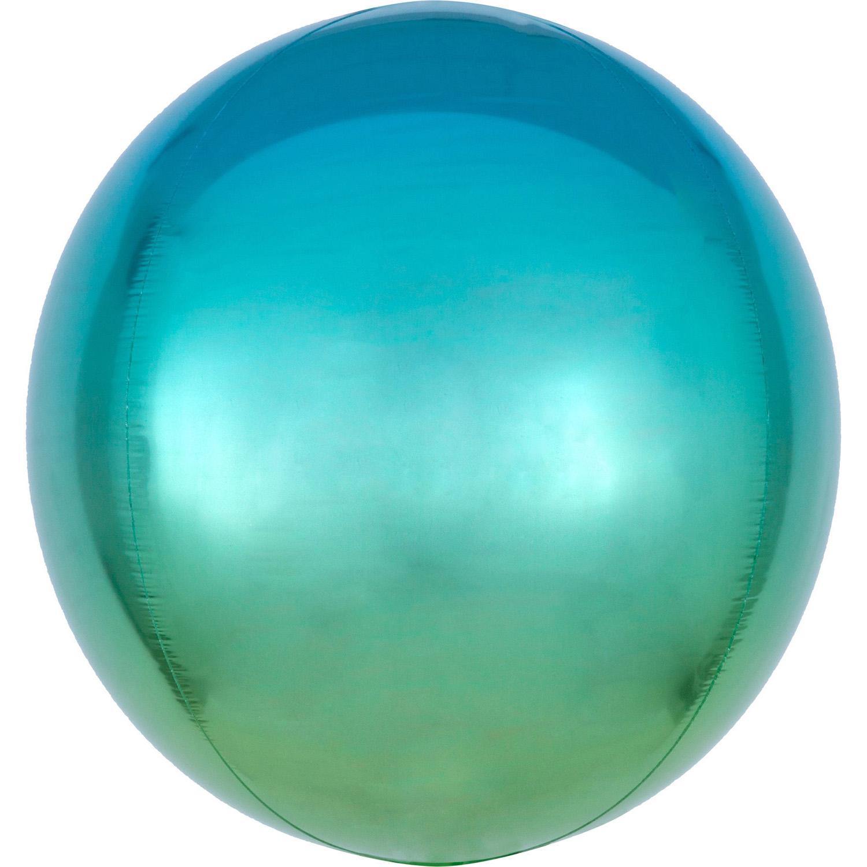 ORBZ Ombré Blue & Green - Folienballon