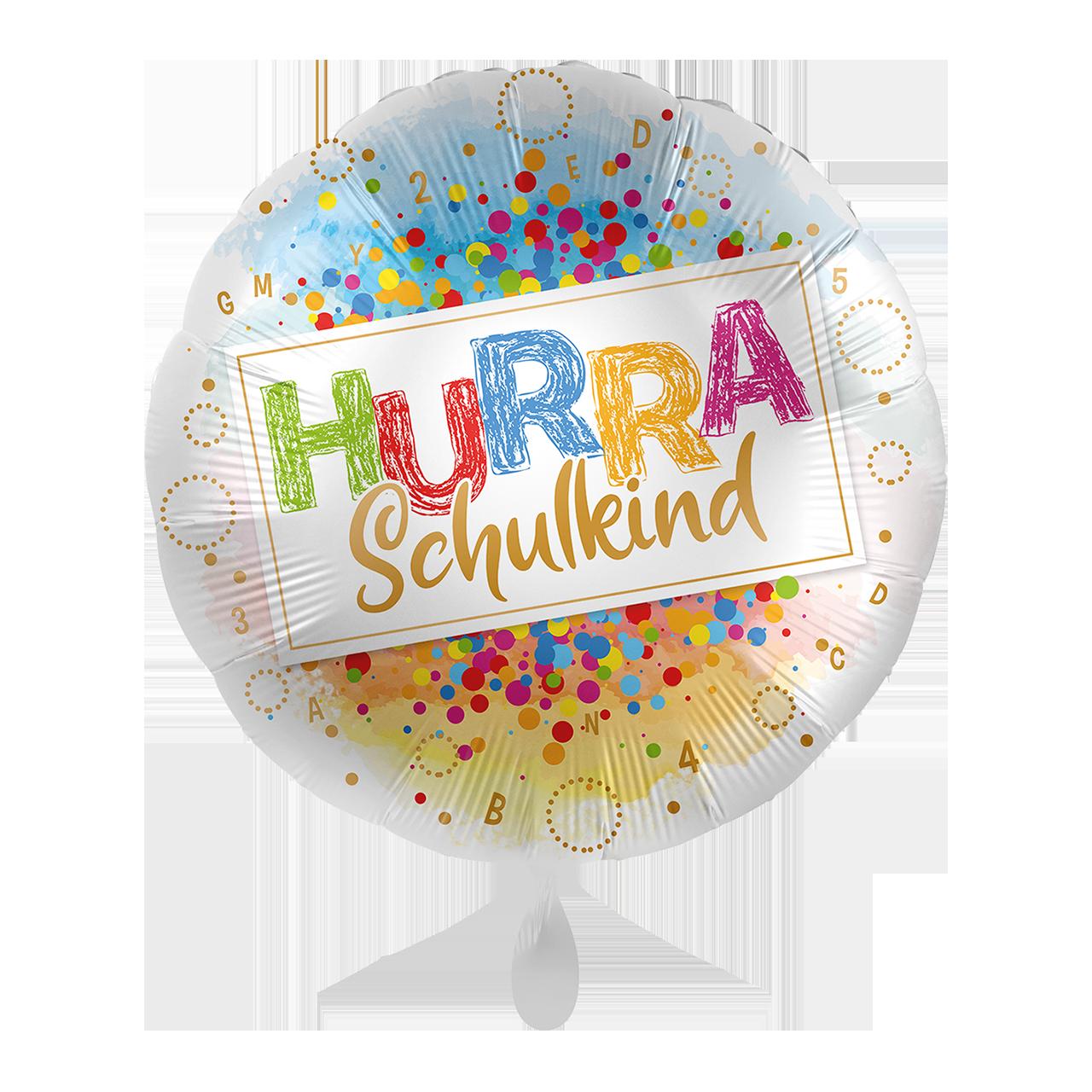HURRA Schulkind - Folienballon