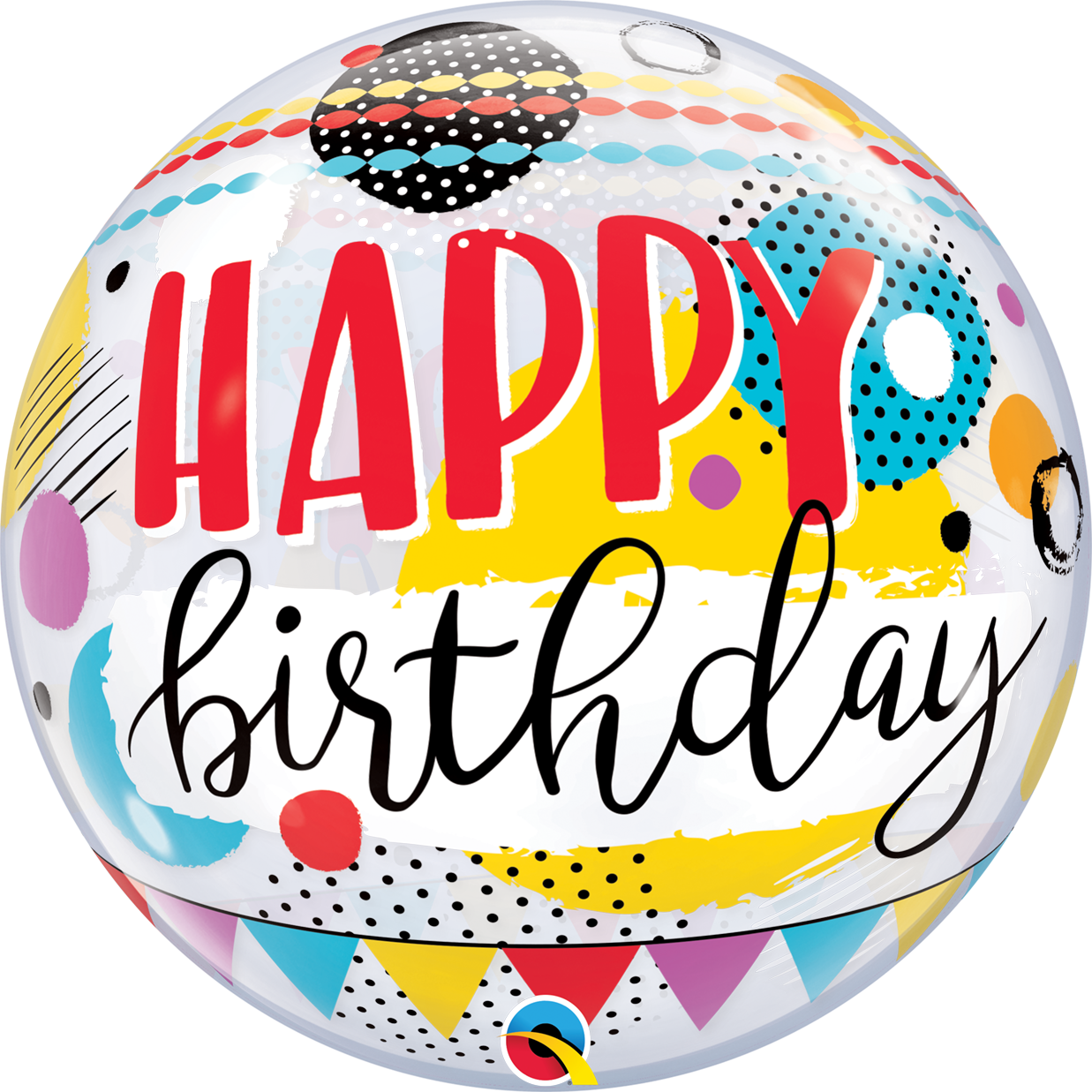 BUBBLES - Birthday Circles & Dot Patterns