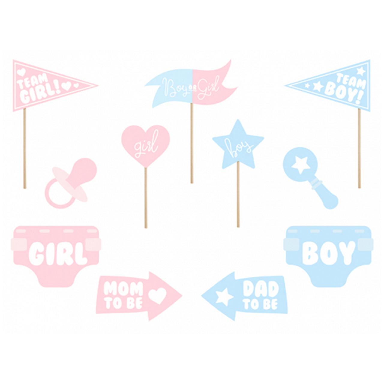 1 Photobooth Set - Boy or Girl