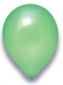 Latex Ballon hellgrün metallic