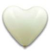 Latex Herz Ballon weiß