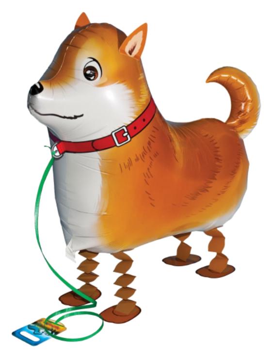 AirWalker Hund Shiba-Inu - Walking Balloon