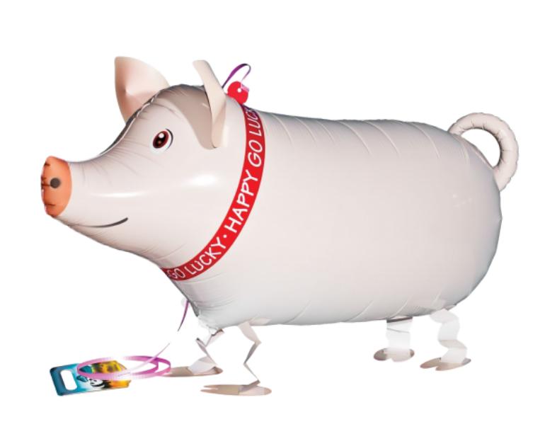 AirWalker Schwein - Walking Balloon