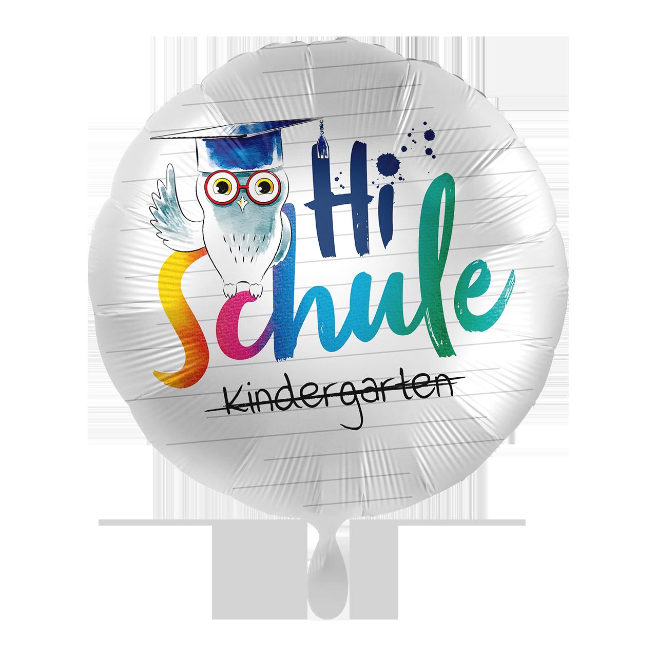 Hi Schule Eule - Folienballon