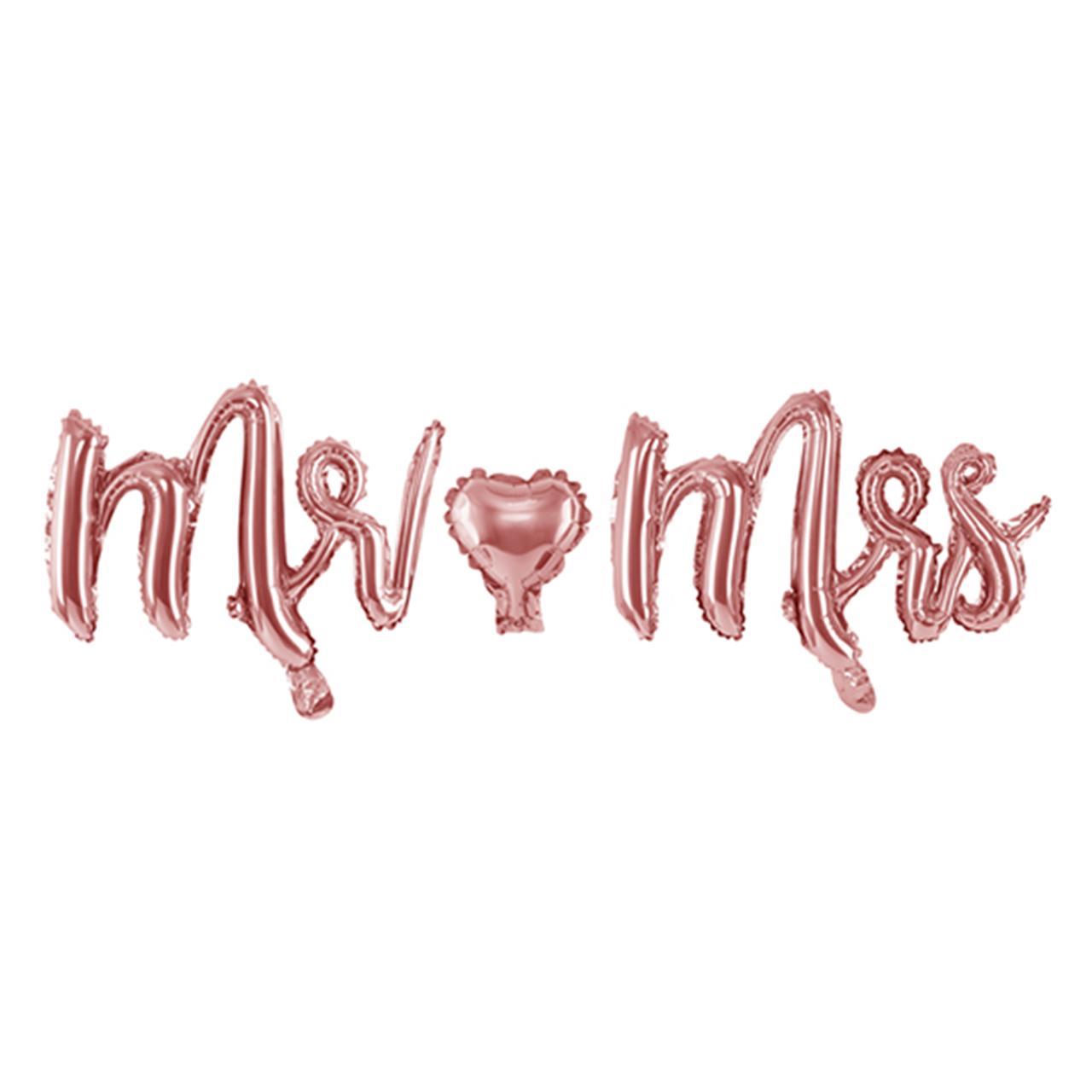Mr. & Mrs. - Schriftzug