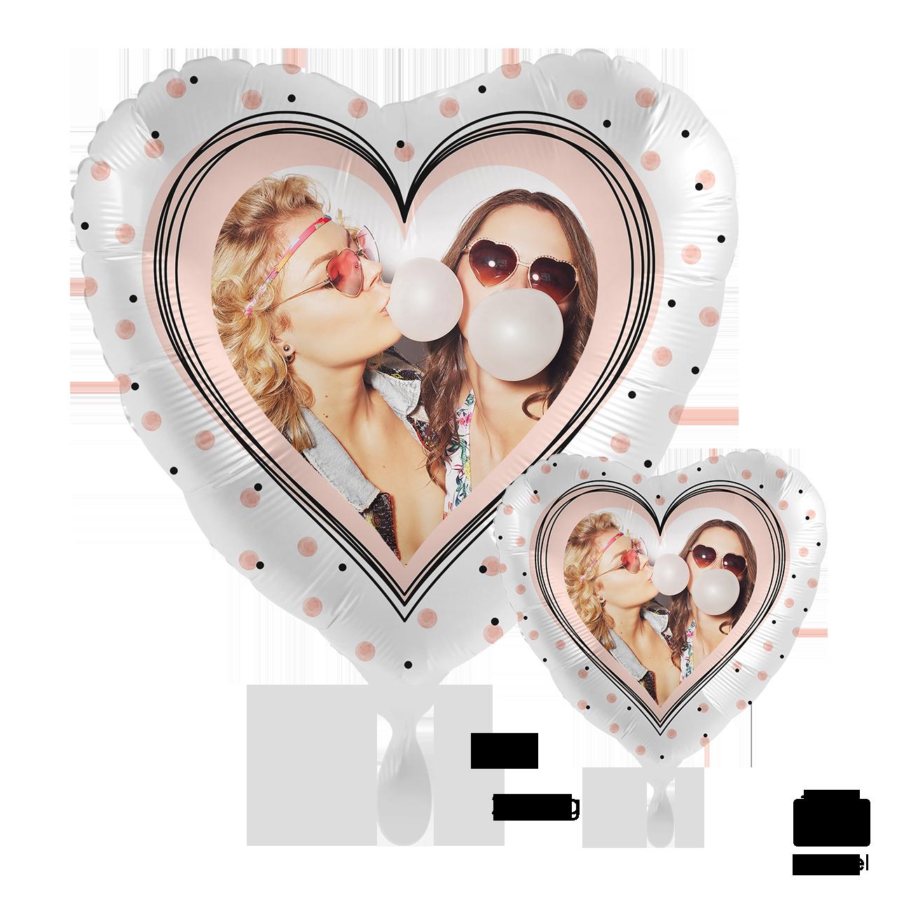 Fotoballon - Glossy Heart
