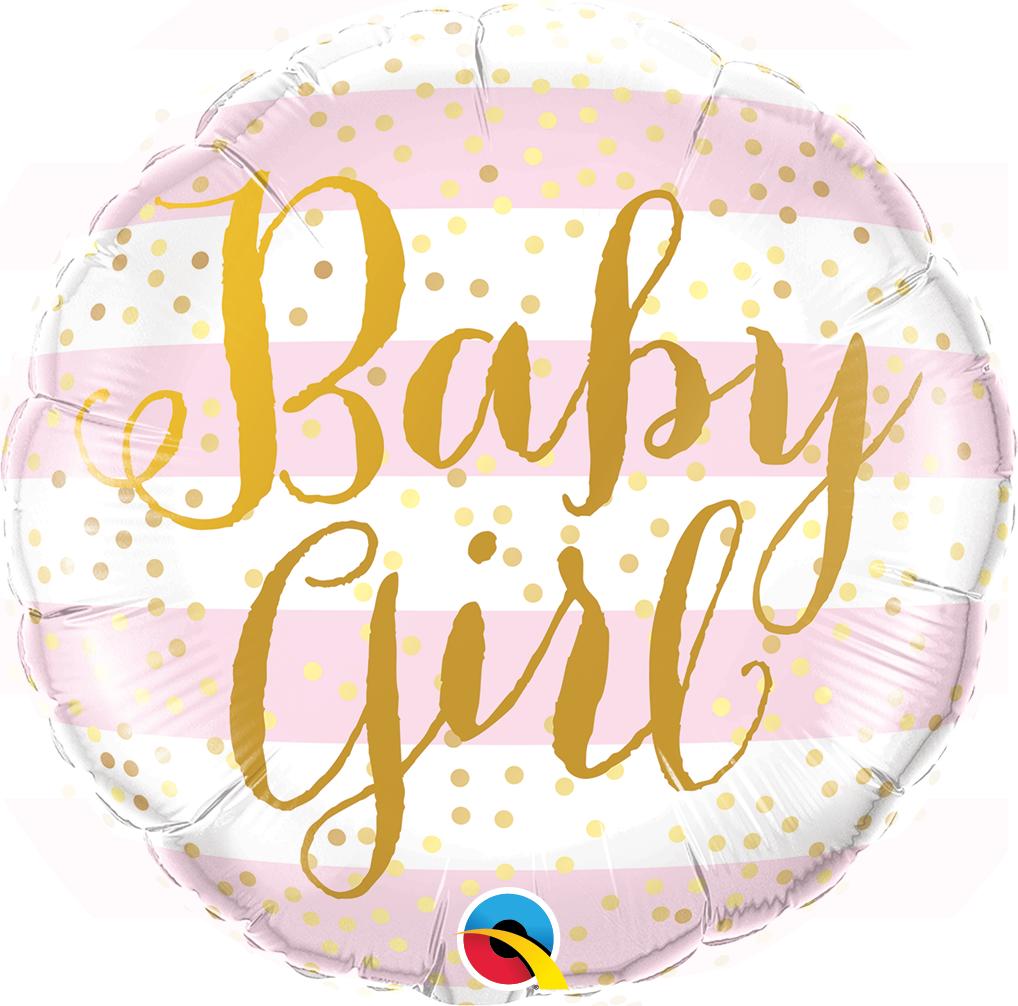 Baby Girl - Folienballon