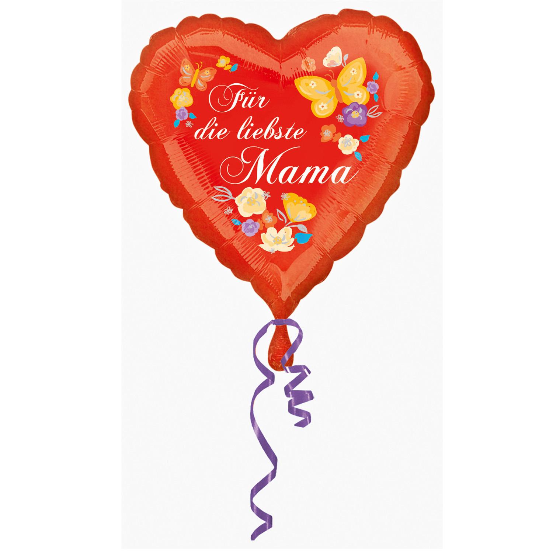 Für die liebste Mama Folienballon
