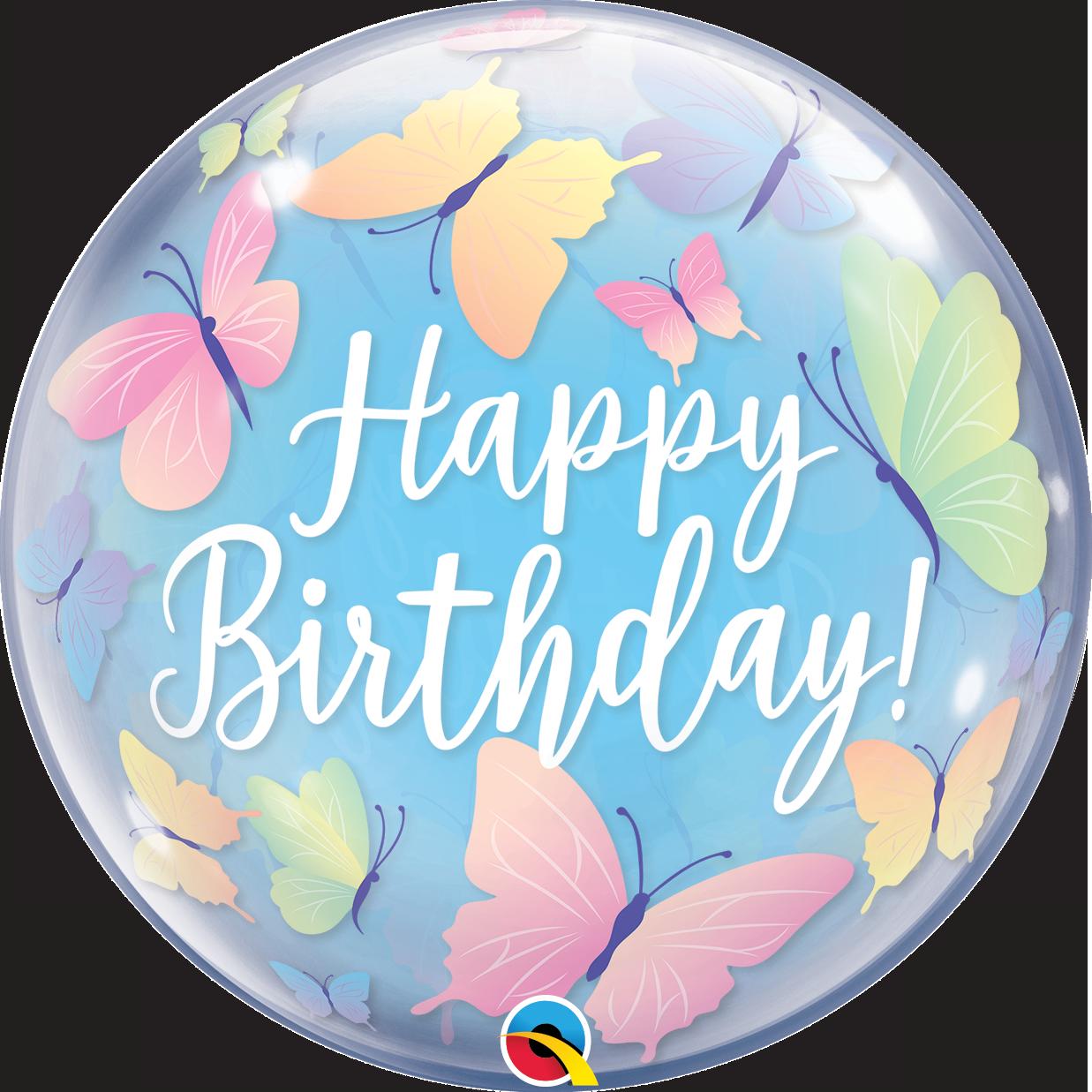 BUBBLES - Birthday Soft Butterflies