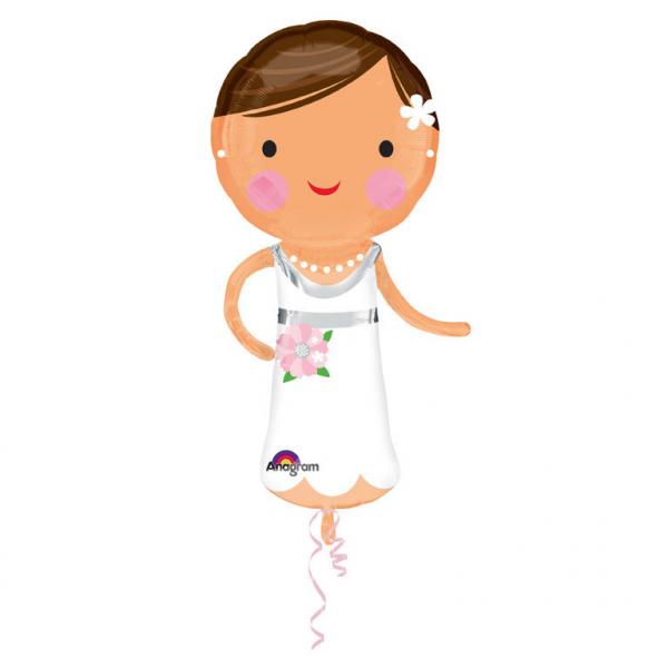 Braut Folienballon