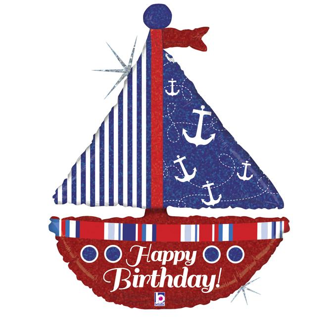 Birthday Boot - Folienballon