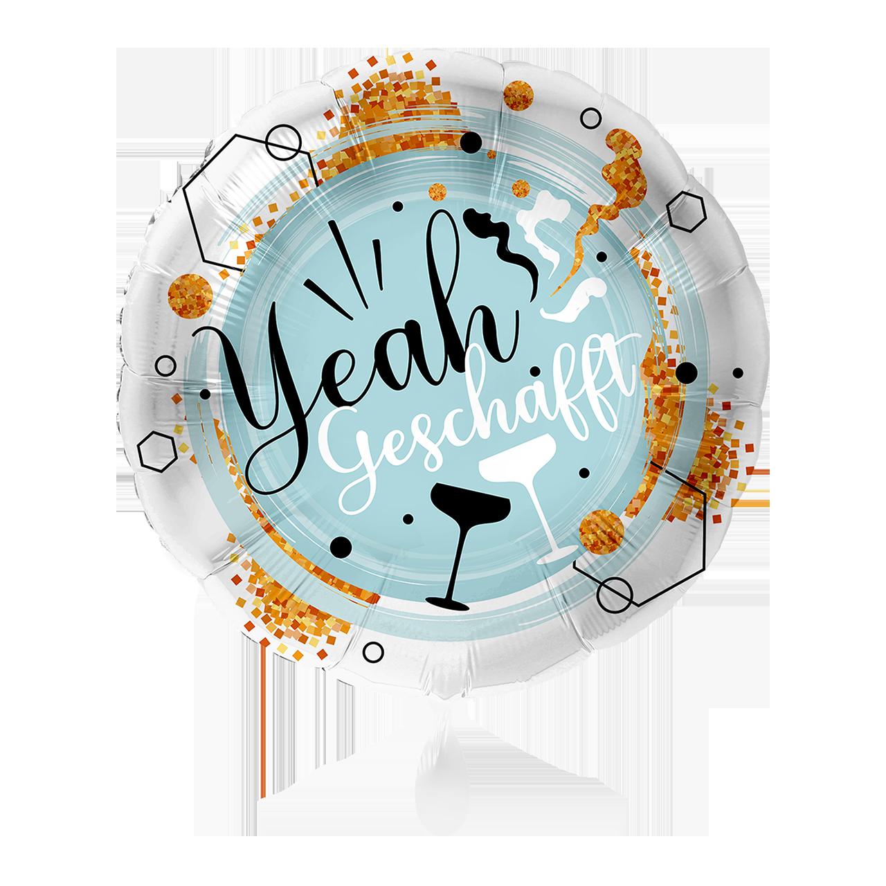 Yeah Geschafft - Folienballon