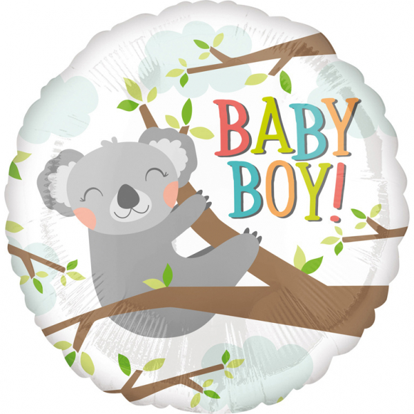 Baby Koala Boy - Folienballon
